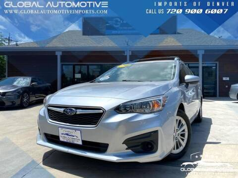 2018 Subaru Impreza for sale at Global Automotive Imports of Denver in Denver CO