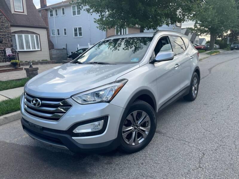 2016 Hyundai Santa Fe Sport for sale at Giordano Auto Sales in Hasbrouck Heights NJ