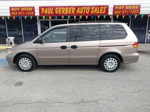 2004 Honda Odyssey for sale at Paul Gerber Auto Sales in Omaha NE