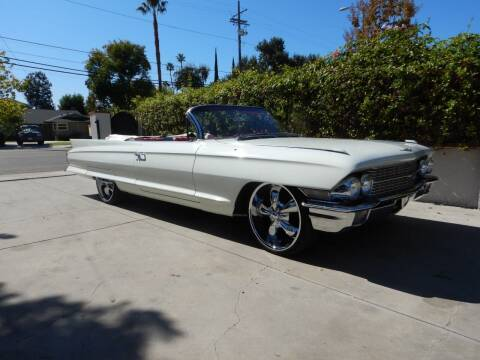 1962 Cadillac DeVille for sale at California Cadillac & Collectibles in Los Angeles CA