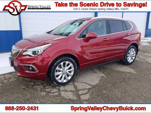 2017 Buick Envision for sale at Spring Valley Chevrolet Buick in Spring Valley MN