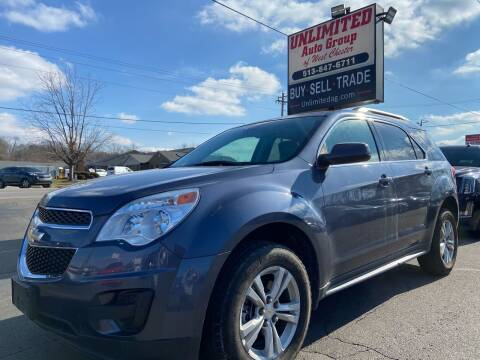 2013 Chevrolet Equinox for sale at Unlimited Auto Group in West Chester OH