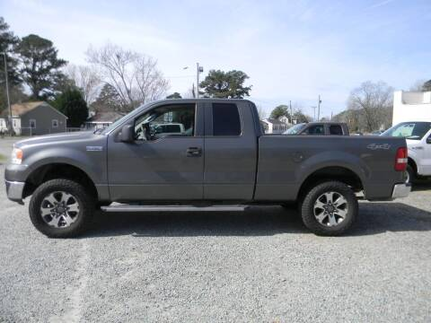 2007 Ford F-150 for sale at SeaCrest Sales, LLC in Elizabeth City NC