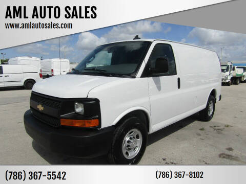 2016 Chevrolet Express Cargo for sale at AML AUTO SALES - Cargo Vans in Opa-Locka FL