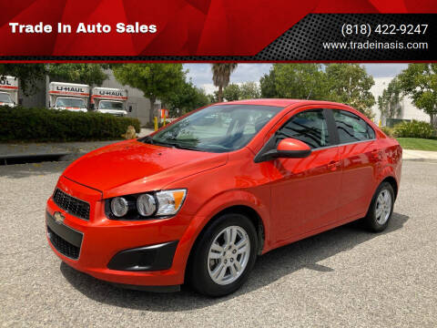 2013 Chevrolet Sonic for sale at Trade In Auto Sales in Van Nuys CA