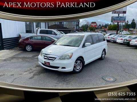 2005 Honda Odyssey for sale at Apex Motors Parkland in Tacoma WA
