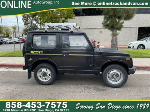 1992 Suzuki Jimny for sale at Online Auto Group Inc in San Diego CA