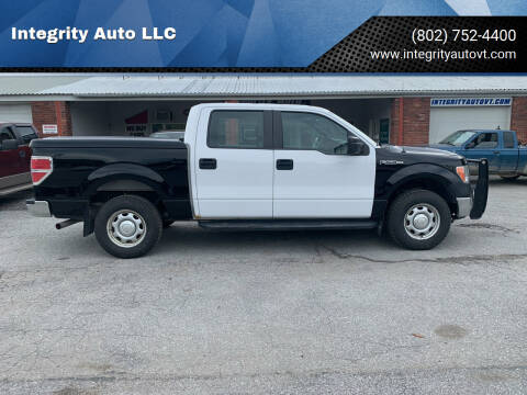 2014 Ford F-150 for sale at Integrity Auto LLC - Integrity Auto 2.0 in St. Albans VT