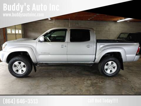 2010 Toyota Tacoma for sale at Buddy's Auto Inc in Pendleton, SC
