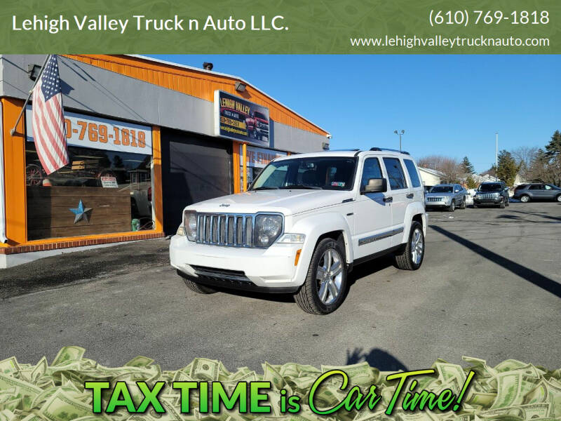 2012 Jeep Liberty for sale at Lehigh Valley Truck n Auto LLC. in Schnecksville PA