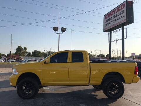 2009 Dodge Ram Pickup 1500 for sale at United Auto Sales in Oklahoma City OK