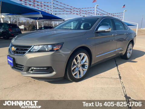 2019 Chevrolet Impala for sale at JOHN HOLT AUTO GROUP, INC. in Chickasha OK