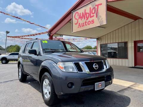 2010 Nissan Pathfinder for sale at Sandlot Autos in Tyler TX
