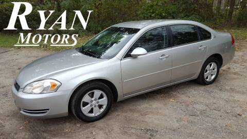 2006 Chevrolet Impala for sale at Ryan Motors LLC in Warsaw IN