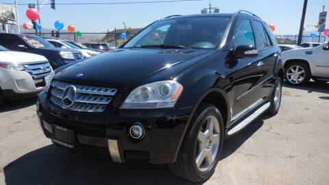 2007 Mercedes-Benz M-Class for sale at Luxor Motors Inc in Pacoima CA
