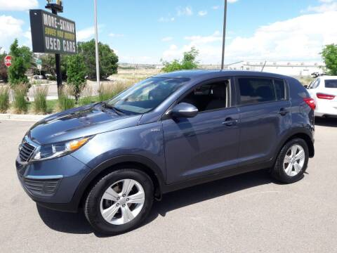 2013 Kia Sportage for sale at More-Skinny Used Cars in Pueblo CO