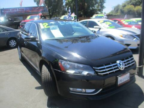 2012 Volkswagen Passat for sale at Quick Auto Sales in Modesto CA