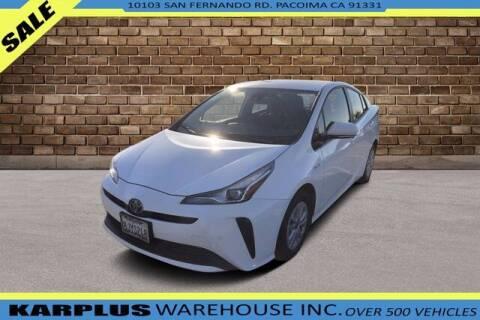 2019 Toyota Prius for sale at Karplus Warehouse in Pacoima CA