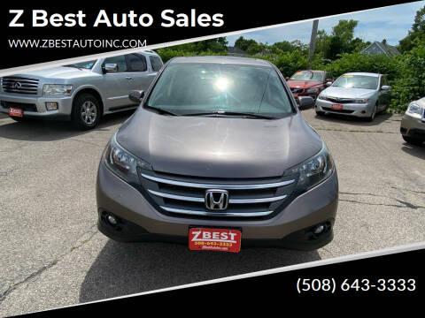 2012 Honda CR-V for sale at Z Best Auto Sales in North Attleboro MA