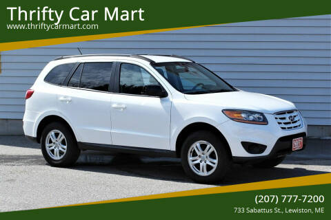 2011 Hyundai Santa Fe for sale at Thrifty Car Mart in Lewiston ME