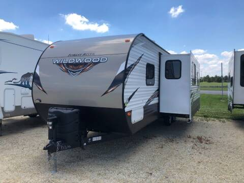 2018 Forest River Wildwood for sale at Kill RV Service LLC in Celina OH