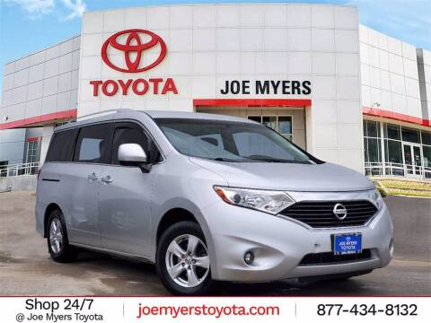 2017 Nissan Quest for sale at Joe Myers Toyota PreOwned in Houston TX