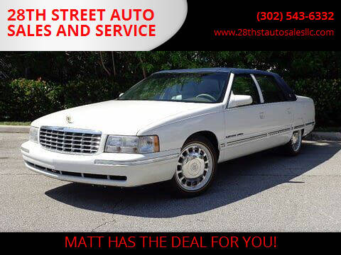 1999 Cadillac COMMERCIAL CHAS for sale at 28TH STREET AUTO SALES AND SERVICE in Wilmington DE
