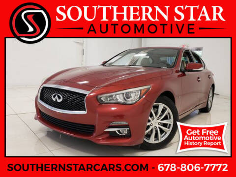 2014 Infiniti Q50 for sale at Southern Star Automotive, Inc. in Duluth GA