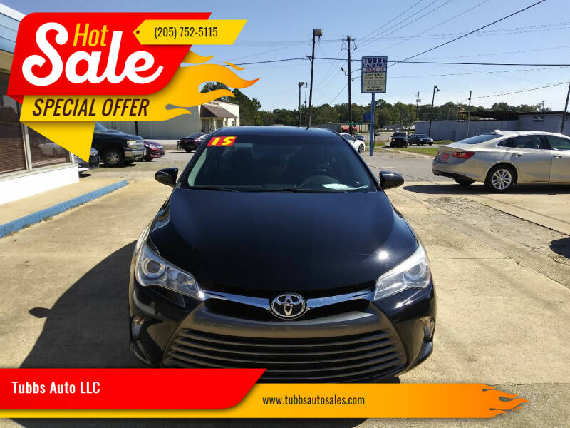 2015 Toyota Camry for sale at Tubbs Auto LLC in Tuscaloosa AL