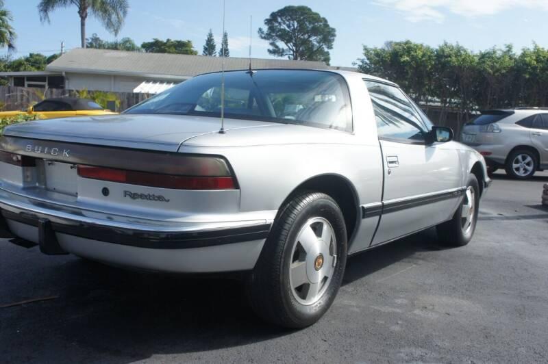 1990 Buick Reatta for sale at Dream Machines USA in Lantana FL
