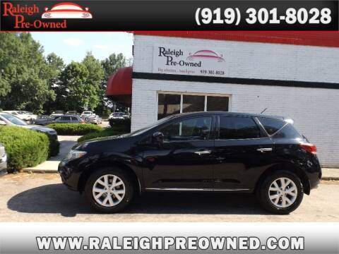 2014 Nissan Murano for sale at Raleigh Pre-Owned in Raleigh NC