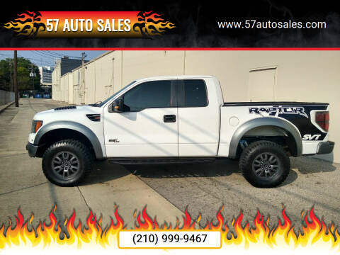 2010 Ford F-150 for sale at 57 Auto Sales in San Antonio TX