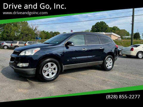 2012 Chevrolet Traverse for sale at Drive and Go, Inc. in Hickory NC