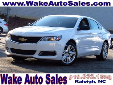 2018 Chevrolet Impala for sale at Wake Auto Sales Inc in Raleigh NC