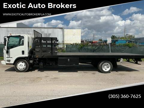 2014 Isuzu NRR for sale at Exotic Auto Brokers in Miami FL