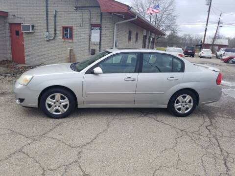 2007 Chevrolet Malibu for sale at David Shiveley in Mount Orab OH