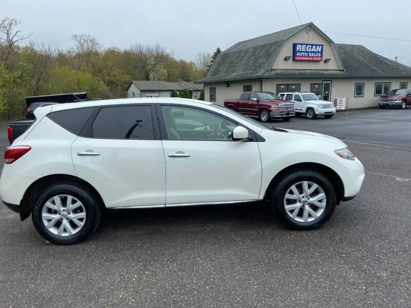2012 Nissan Murano for sale at Mark Regan Auto Sales in Oswego NY