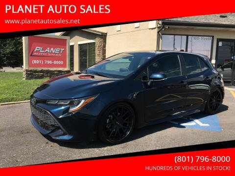 2019 Toyota Corolla Hatchback for sale at PLANET AUTO SALES in Lindon UT