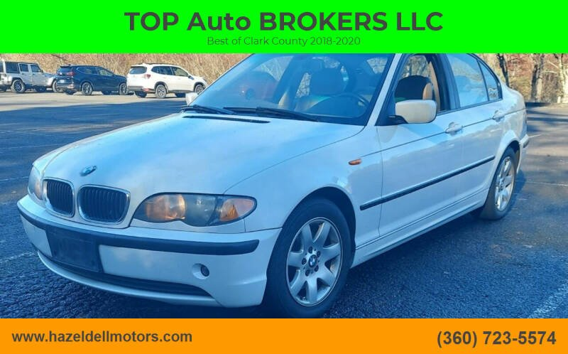 2004 BMW 3 Series for sale at TOP Auto BROKERS LLC in Vancouver WA