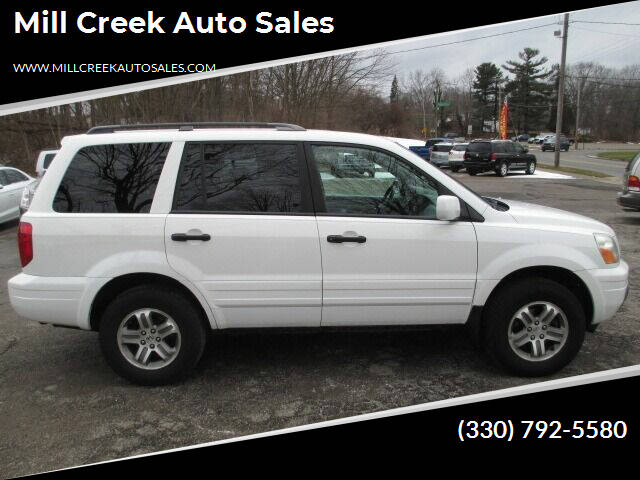 2004 Honda Pilot for sale at Mill Creek Auto Sales in Youngstown OH