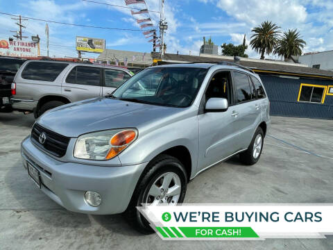 2005 Toyota RAV4 for sale at FJ Auto Sales North Hollywood in North Hollywood CA