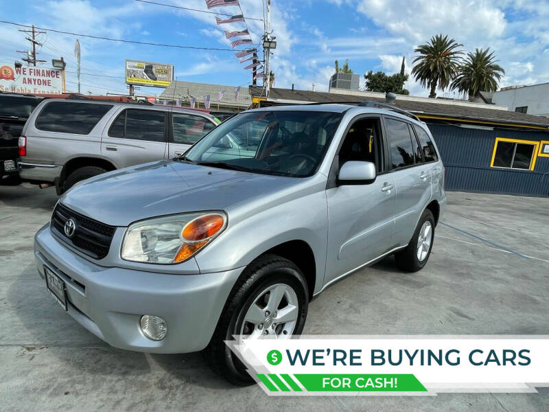 2005 Toyota RAV4 for sale at Good Vibes Auto Sales in North Hollywood CA