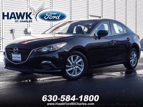 2014 Mazda MAZDA3 for sale at Hawk Ford of St. Charles in St Charles IL