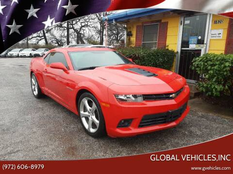 2014 Chevrolet Camaro for sale at Global Vehicles,Inc in Irving TX