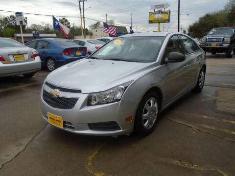 2014 Chevrolet Cruze for sale at Metroplex Motors Inc. in Houston TX