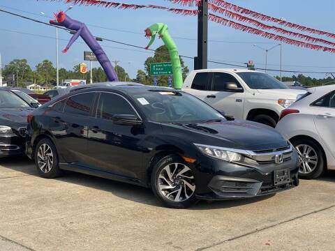 2016 Honda Civic for sale at Direct Auto in D'Iberville MS