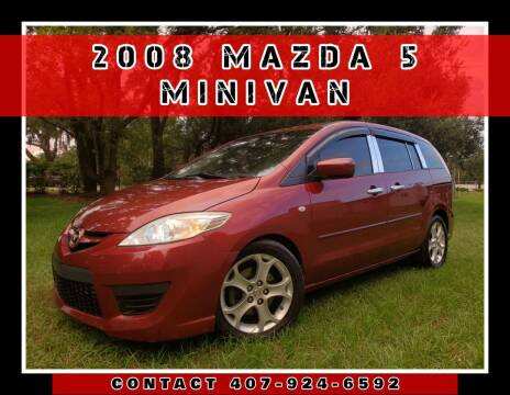 2008 Mazda MAZDA5 for sale at AFFORDABLE ONE LLC in Orlando FL