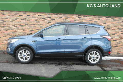 2018 Ford Escape for sale at KC'S Auto Land in Kalamazoo MI