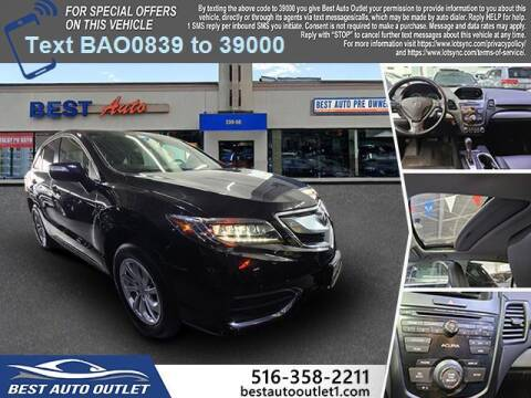 2018 Acura RDX for sale at Best Auto Outlet in Floral Park NY