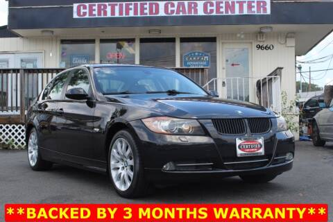 2008 BMW 3 Series for sale at CERTIFIED CAR CENTER in Fairfax VA